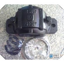 Diamètre de l'arbre Ikc Diamètre de l'alésage-140mm Boîtier de roulement à blocage plissé Snl528 Sn528 Fsnl528, Snl Sne Sn Fsnl 528, Equivalent SKF