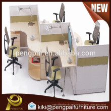 Modern 4 persons office workstation