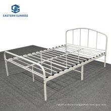 Modern Industrial Simple Hotel Furniture Bedroom Set Metal Single Queen Bed