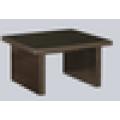 Mesa de chá de madeira de escritório com mesa de chá chinesa de glss top mesa de café