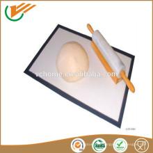 China supplier Fiberglass Fiber glass Silicone Baking Mat silicone fiber baking mat
