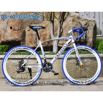 Bicicleta de carreras de carretera de 21-27 velocidades de alta calidad con CE