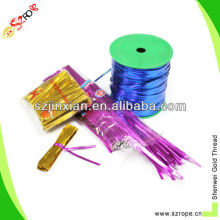 4MM metallic twist ties for candy cello bags