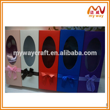 different colors box of gift boxes for wine glasses ,factory direct sale