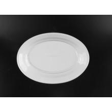 white oval ceramic plates bulk for dinner
