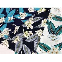 Tissu d'impression extensible en coton pour chemise et robe