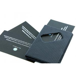 Carbon fiber name card holder