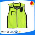 85gsm net orange cycle safety vest for adult