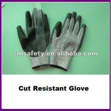 Spectra Cut Resistant Meat Cutting Glove With PU Coated ZMR462