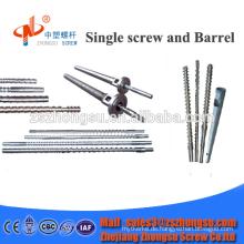Bimetall-Einzel-Kunststoff-Extruder-Schneckenzylinder