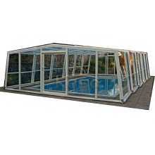 Couverture de piscine Hexagone Lowe Patio Enclosure