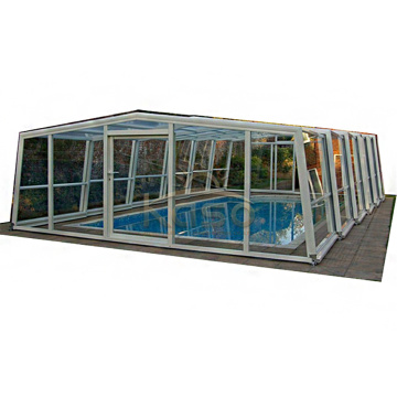 Cobertura de piscina hexagonal Lowe Patio Enclosure