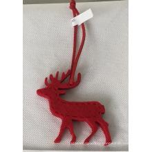 Новогоднее украшение кулон олень