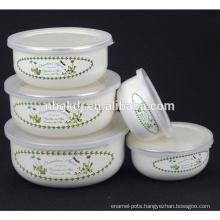 Korean cute ceramic ice bowl