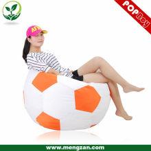 Футбол дизайн взрослый стул beanbag одно место beanbag диван