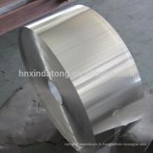 bande d'aluminium plat