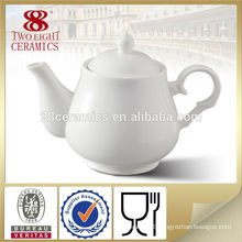 Bone china tea set Korean Wholesale Crockery pure white tea pot