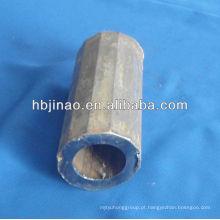 Q345B / ST52 / SPFC590 / E355 / S355JR Tubo e tubo de aço de liga sem costura do Dodecagon
