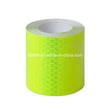 "New 2""X10′ 3m Fluorescent Color Reflective Safety Warning Conspicuity Sticker"