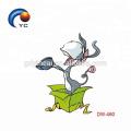 Autocollants de personnage de dessin animé Autocollant de tatouage temporaire pour les enfants