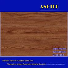 Plancher en plastique de planche de vinyle de PVC de plancher