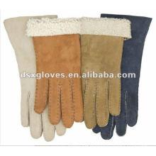 New Style Winter Glove fur cuff