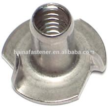 DIN1624 4-CLAW гайка, 4-CLAW гайка, гайка тройника, высококачественная гайка