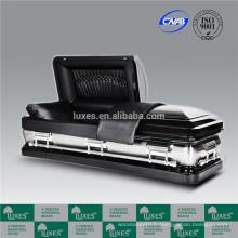 LUXES 18ga gros cercueil métallique cercueil Chine fabrication