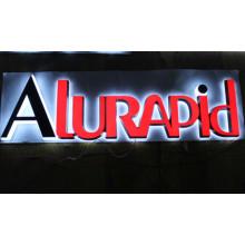 En gros 2015 Nouveau Design Haute Qualité Vacuum Formant LED Acrylique Lettre Signe