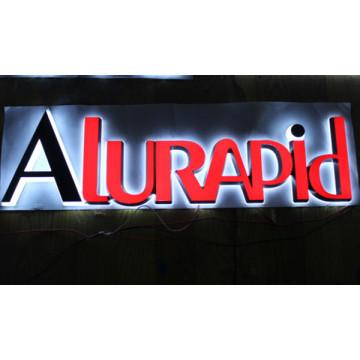 Atacado 2015 Novo Design de Alta Qualidade Vacuum Forming LED Acrílico Carta Sinal
