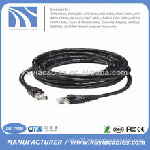 30FT Waterproof Outdoor utp Cat6 Ethernet Internet Lan Cable