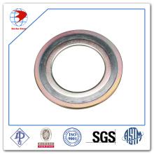 """Spiral Wunddichtung 6 """"600 # ASME B16.20 Ss304 Dichtungen"""