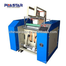 automatic manual aluminum foil roll rewinder with low cost