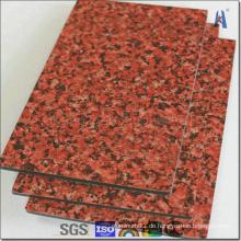 Weiße Aluminium Verbundplatte für Bau Wandverkleidung