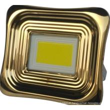 Holofote solar de alumínio para casa