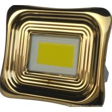 Solar-Flutlicht aus Aluminium für Zuhause