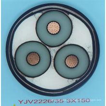 (TISENSE-YJV) Amerikanischer Markt Bevorzugter Niederspannungs-PVC-Aufbau Stromkabel