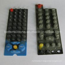 Switches en caoutchouc silicone en elastomère à élastomère élastique