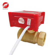 Válvula de control de flujo de agua de flujo de polvo neumático profesional