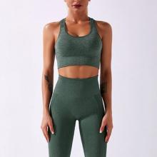2021 Conjunto de Yoga Seamless Fitness Sports Gym Outdoor Ciclismo Esportes Conjunto de Ioga Fitness Mulheres