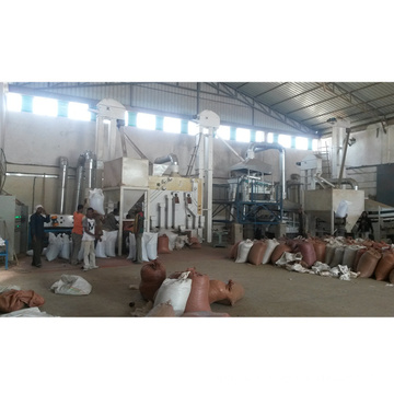 usine de traitement de traitement de nettoyage de sésame