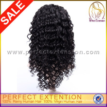 Ladi Gaga Wig Virgin Hair Beyonce Wavy Black Lace Wigs