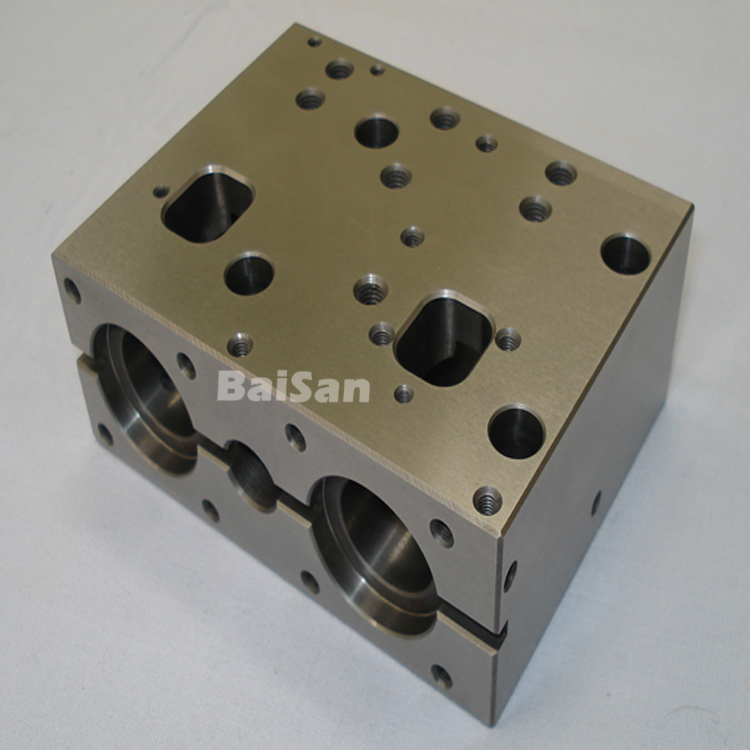 Precision Aluminum Alloy Hydraulic Manifolds