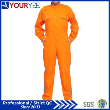 Hochwertige Mechaniker-Overalls Arbeitskleidung mit reflektierendem Band (YLT111)