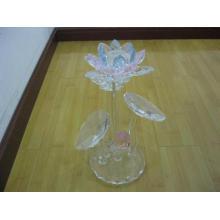 Хрустальные настольные украшения цветок лотоса (JDH-028)