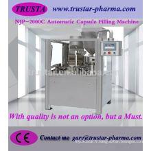 Machine de remplissage de capsule pharmaceutique, prix de machine de remplissage de capsule en Chine