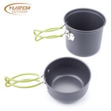 4 Pieces Quick Heating Cooking Pot Set
