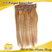 Neue Arrvial-Menschenhaarspange in Haarteilen für dünner werdendes Haar