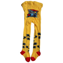 Yellow Children Single Cylinder Socks