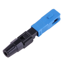 FTTH esay instale o conector rápido sc / apc, monte facilmente o conector da fibra sc sm